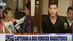 Cercado: capturan a raqueteros que asaltaban en Av. 28 de Julio - Noticias de arequipa