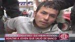 'Raqueteros' intentaron asaltar a mujer fuera de banco - Noticias de cómplice