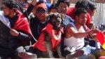 Petardo, el perro que acompañó las protestas en Bolivia - Noticias de pagina