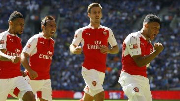Arsenal venció 1-0 a Chelsea y ganó título de Supercopa inglesa