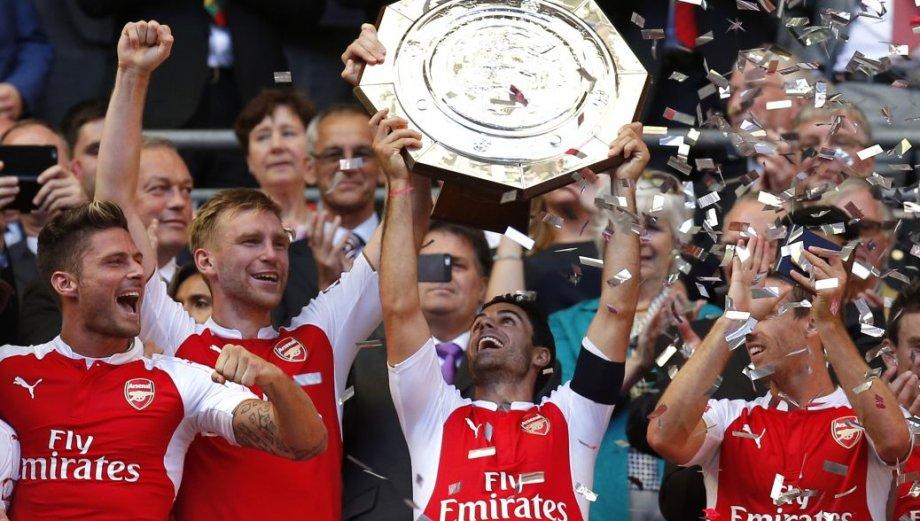 Arsenal campeón de la Community Shield: así fueron los festejos
