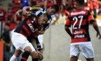 Paolo Guerrero: Flamengo igualó 2-2 con Santos por Brasileirao