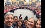 Manuel Pulgar-Vidal publicó en Twitter 'selfie' de ministros
