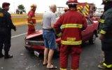 Costa Verde: triple choque causó congestión hacia el Callao
