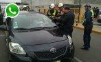 Callao: inició control a taxistas en el aeropuerto