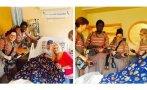 Las nuevas 'cazafantasmas' visitan un hospital de niños