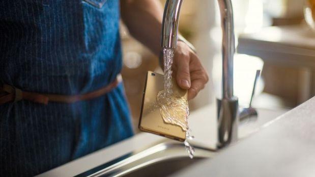 El smartphone es resistente al agua como el Xperia M4. (Foto: Sony)