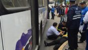Miraflores: chofer de bus atropelló a inspectora de tránsito
