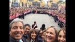 Manuel Pulgar-Vidal publicó en Twitter 'selfie' con ministros - Noticias de gabinete ministerial
