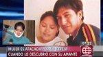 VES: mujer sufrió cortes por agresión de conviviente y amante - Noticias de homicidio