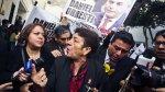 Viuda de Hugo Bustíos dice que Urresti quiere politizar juicio - Noticias de asesinato