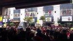 Gamarra: vendedores se amotinaron por clausura de galería - Noticias de operativos policiales