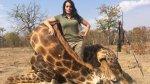 Cazadora aviva polémica por la muerte de león Cecil [FOTOS] - Noticias de foto papeletas
