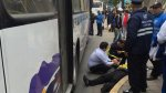Miraflores: chofer de bus atropelló a inspectora de tránsito - Noticias de papeletas de transito