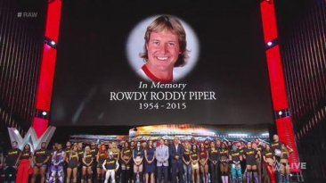 WWE: estrellas rindieron homenaje a fallecido 'Rowdy' Piper