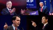 Los republicanos en carrera por la Casa Blanca [PERFILES]