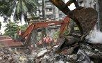 India: Un edificio cae debido a las lluvias y deja 12 muertos