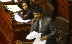 Otra baja en Gana Perú: Wilder Ruiz se marchó a bancada de DyD