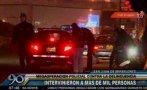Megaoperativo policial en SJM terminó con cientos de detenidos