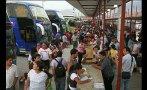 Huancayo: pasajeros tomaron terminal por alza en los pasajes