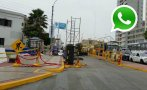 WhatsApp: andamios de la Parada Militar siguen en Av. Brasil