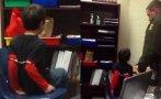 Un policía esposó a un niño de 8 años por portarse mal [VIDEO]