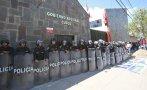 Manifestantes bloquearon acceso a la sede del gobierno regional