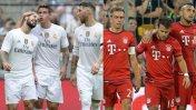 Real Madrid vs. Bayern Múnich definen la Audi Cup