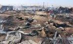Incendio arrasó con casas en Sullana: 30 familias damnificadas