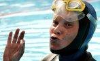 Famosa nadadora rusa desaparece en el mar mientras buceaba