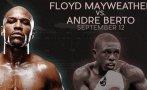 Floyd Mayweather ya tiene rival para pelea del 12 de setiembre