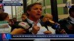 Francis Allison denunció a Manuel Velarde por corrupción - Noticias de lima