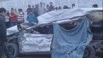 Pachacámac: gestante falleció en choque entre taxi y camión - Noticias de accidente
