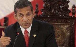 Humala defiende a Rocío Calderón y dice que hay cargamontón