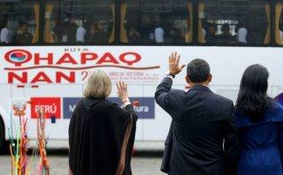 Humala despide a alumnos que participarán de la ruta Qhapaq Ñan