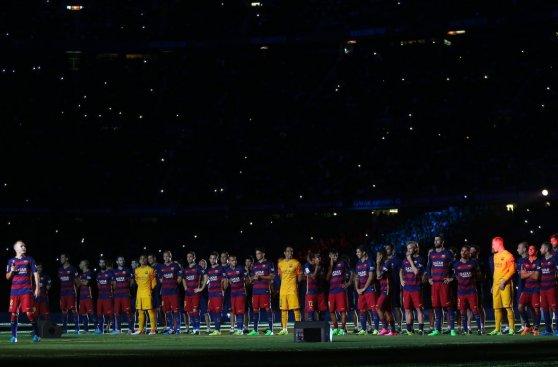 Barcelona presentó a sus estrellas en el Camp Nou (FOTOS)