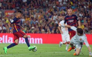 Barcelona vs. Roma: Neymar anotó primer gol en el Joan Gamper