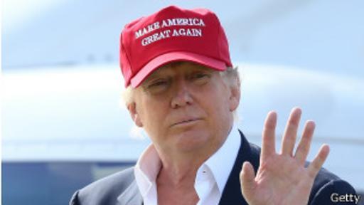Desde que anunció su postulación en junio, raro es el día que Trump no aparece en los medios en EE.UU. (Foto: AP)