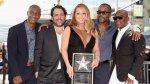Mariah Carey recibió su estrella en el Paseo de la Fama (FOTOS) - Noticias de nick cannon