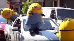 "Minions ""atacan"" y causan caos en calles de Brasil [VIDEO] - Noticias de actores brasileños"
