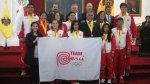 Municipalidad de Lima homenajeó a medallistas de Toronto 2015 - Noticias de natalia cuglievan