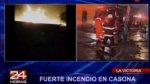 Incendio en casona de La Victoria dejó un anciano herido - Noticias de anselmo talledo