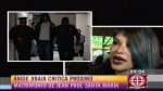 Angie Jibaja arremetió contra Olinda Castañeda (VIDEO) - Noticias de romina gachoy