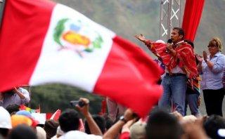 """Humala: """"Que ningún candidato toque los programas sociales"""""""