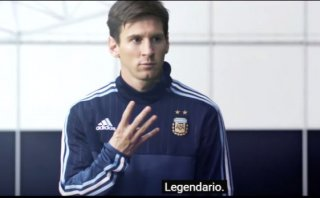 Lionel Messi, Bale, James y Müller en creativo comercial de TV