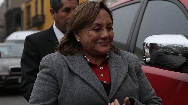 La congresista Rosa Núñez (Concertación Parlamentaria) acusó a su ex esposo César Acuña de haberla maltratado durante su matrimonio. (Foto: El Comercio)
