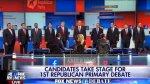 Rumbo a la Casa Blanca: Republicanos debatieron por primera vez - Noticias de muere paul walker