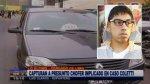 Capturan a chofer implicado en asesinato de Patrick Zapata - Noticias de asesinato en los olivos