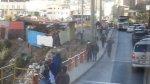Protesta de trabajadores bloquea tráfico en Carretera Central - Noticias de luis silva nole