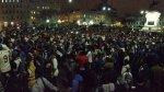 Hinchas de la 'U' festejaron aniversario en Plaza San Martín - Noticias de voleibolista rocio miranda